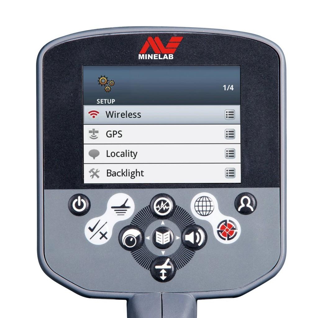 Minelab Ctx 3030 Review Mr Metal Detector Module Display