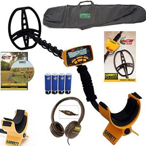 NEW-Garrett-Ace-350-Metal-Detector-WATERPROOF-Coil-Headphones-and-Travel-Bag-0